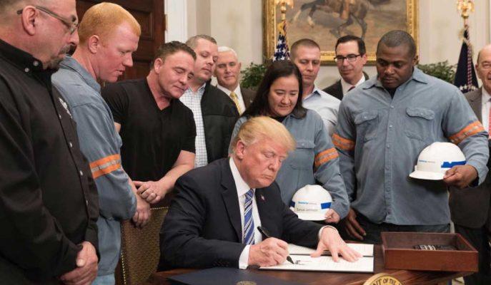 Trump İmzaladığı Ek Vergi Kararında NAFTA Partnerlerini Muaf Tuttu, Diğerlerine Açık Kapı Bıraktı