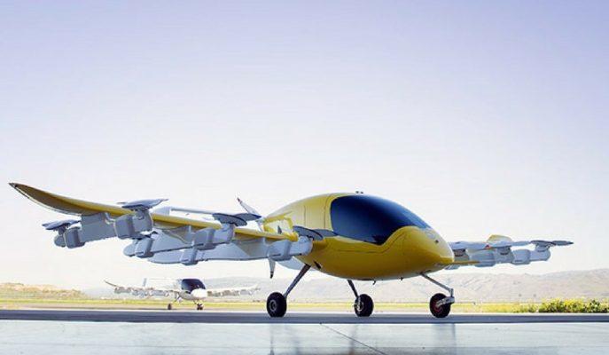 """Google – Kitty Hawk'ın İlk Ürünü """"Uçan Taksi Cora"""" Ortaya Çıktı!"""