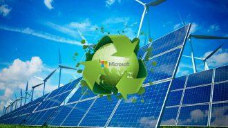 Hedeflerine Ulaşmak İsteyen Microsoft Yenilenebilir Enerji Yatırımlarına Ara Vermiyor!