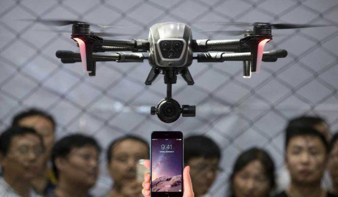 Kaçakçılar Çin'e 79.8 Milyon Dolar Değerinde iPhone'u Drone Kullanarak Soktu!