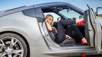 Kadın Sürücülerin Asfalt Üzerinde Hünerlerini Sergilediği 7 Drift Performansı