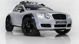 """Lüks Sedanın Güçlü 4×4'e Dönüşümü: """"Bentley Continental GT Off Road"""""""