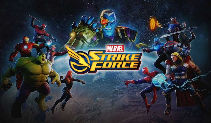 Marvel'in Süper Kahramanları Mobil Oyun ile Hayat Buluyor: Strike Force Yayınlandı!