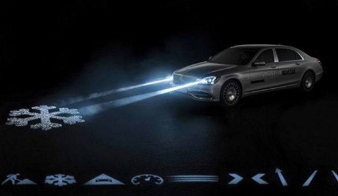 "Mercedes'in Yeni Megapiksel Yapılı Far Sistemi ""Digital Light"""