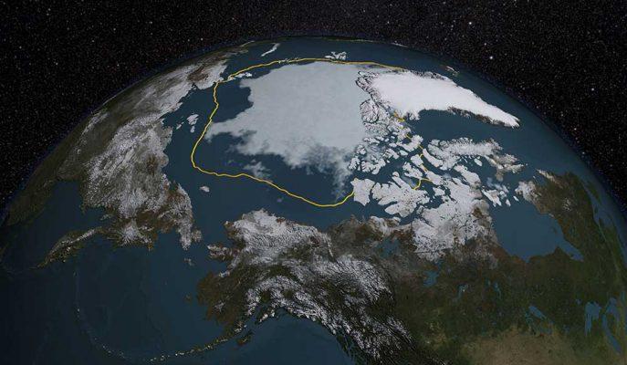 NASA Açıkladı: Buz Seviyesinde Rekor Düşüş!