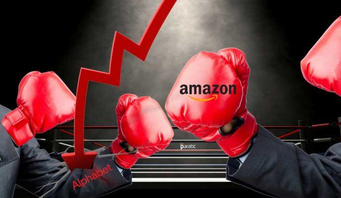 Rekora Doymayan Amazon Microsoft'un Ardından Alphabet'i de Geride Bıraktı!