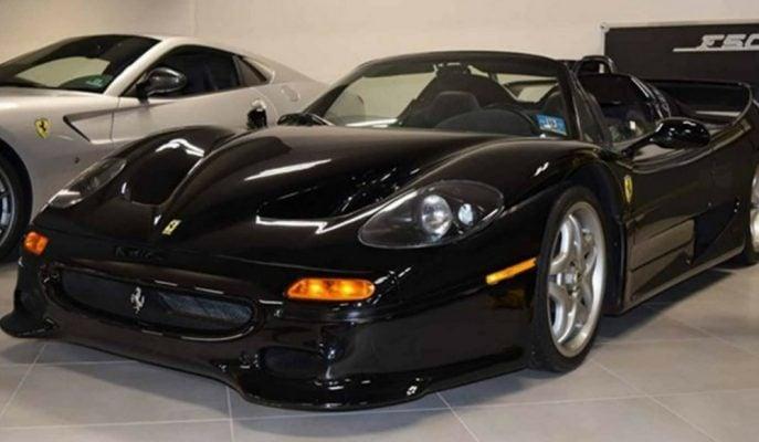 Satılığa Çıkartılan F50 Nero Daytona'nın Fiyatına 15 Adet Sıfır Ferrari Alınabiliyor!