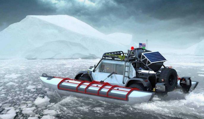 """SCG """"Boot Bugy"""" 5.0L Motoruyla Dakar Rallisine Gidiyor!"""