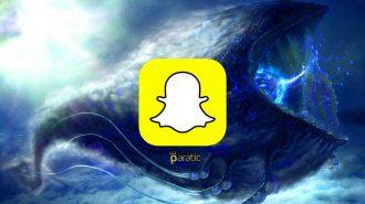 Snapchat'in Mavi Balinalı Filtresi Şaşırttı!