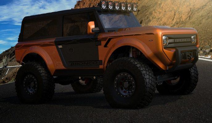 Tarih Ford Bronco'yu Unutmadı ve Yeni Yapısına 2020'de Kavuşabilir!