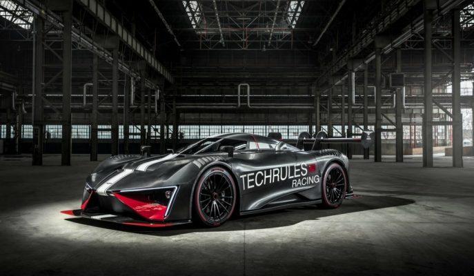 "Techrules Dizel + Hibrit Motorlu 1287 Hp'lik ""Ren RS"" Modelini Gösterdi!"