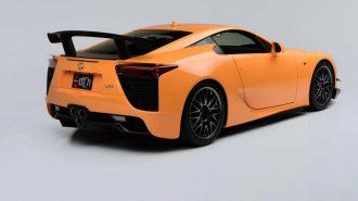 Toyota'nın 500 Örnekten Biri Olan En Hızlı Turuncu LFA'sı Satılıyor!