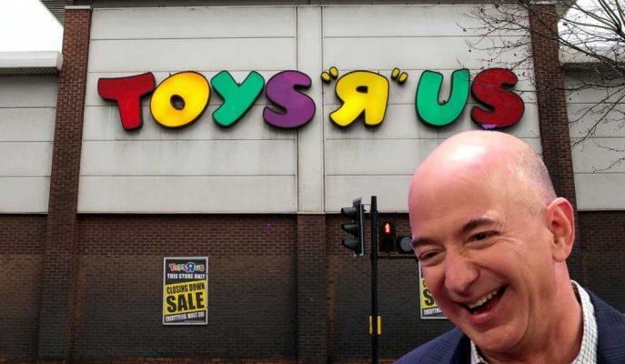 Toys R Us İngiltere'deki Bütün Mağazalarını Kapatıyor: Çöküşün Nedeni Amazon mu?