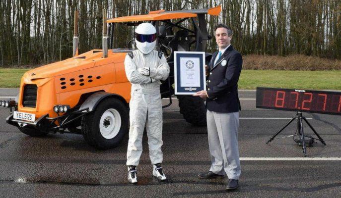 Traktörlerin Yavaşlık Sorununu Top Gear Kendi Yöntemleriyle Çözdü!