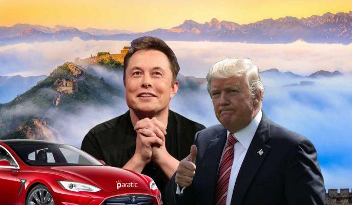 Trump, Musk'ın Çin ile ABD Arasındaki Otomobil Yarışının Adil Olması Talebine Yeşil Işık Yaktı!