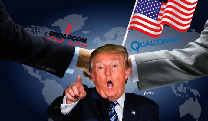 """Trump Qualcomm Broadcom Birleşmesini """"Ulusal Güvenlik"""" Gerekçesiyle Engelledi!"""