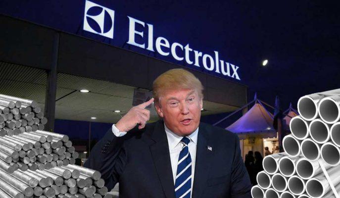 Trump'ın Vergi Krizi İsveçli Electrolux'un Milyon Dolarlık Yatırımını Durdurdu!