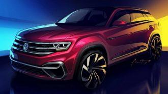 VW'nin Büyük Hacimli Atlas SUV'na Farklı Gövde Yapısı Geliyor!