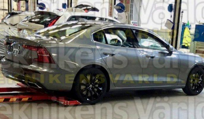 Yeni Kasa Volvo S60'tan Beklenmedik Anda Gelen Görsel!