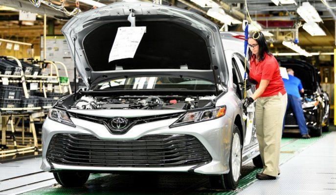 Toyota Yeni Nesil Camry'lerin Piston Sorunu için Güvenlik Kampanyası Başlattı!