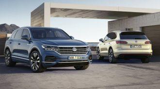 """2019 Yeni Nesil """"VW Touareg SUV"""" Ultra Lüks Haliyle Hayran Bırakıyor!"""