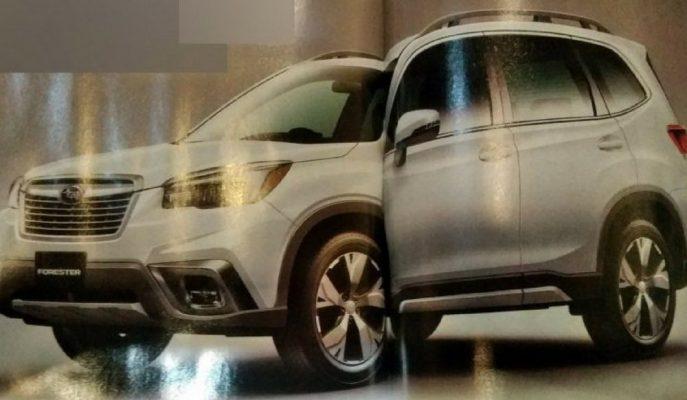 """Yeni Subaru Forester Fuarda Gösterilmeden """"Japon Dergisinde"""" Çıktı!"""