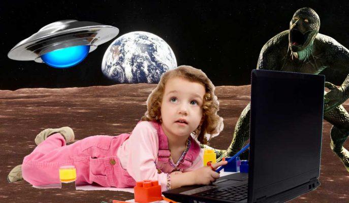 YouTube Kids Çocuklara Komplo Teorileriyle Dolu Videolar Sunuyor!