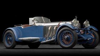 """1929 Mercedes S Barker Tourer Boat Tail: """"Geçmişin En Hızlı Yasal Yol Arabası"""""""