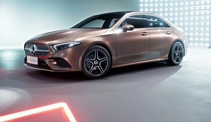 2018 Yeni Mercedes A - Serisi L Göz Alıcı Tasarımıyla Gösterildi!