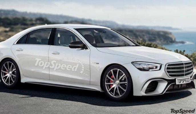 2020 Mercedes S Class'a Dair En Yeni Çizimler Geldi!