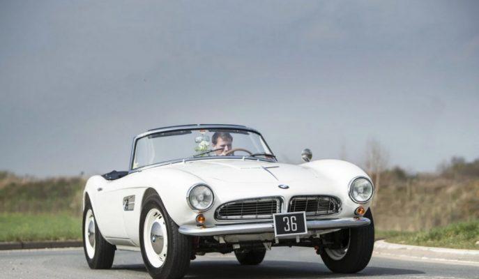 Yunanistan'ın Son Kralına Ait 1959 BMW 507 Roadster Açık Artırmayla Satılıyor!