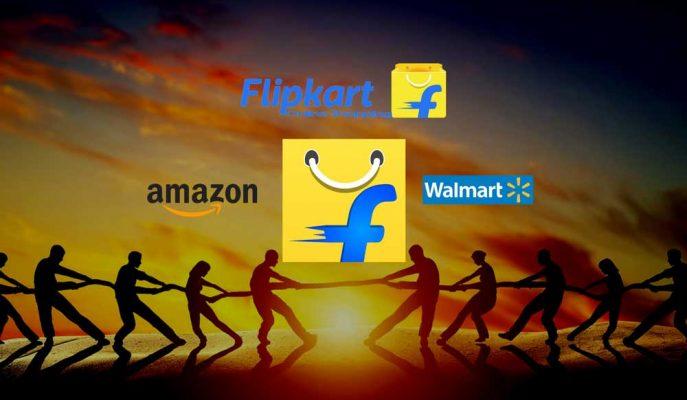 Amazon ile Wal-Mart Bu Kez Flipkart için Karşı Karşıya Geldi!