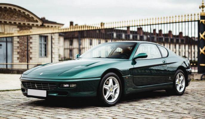 Arap Şeyhinin Özel Koleksiyonundan Ferrari 456 GT'si Satılıyor!