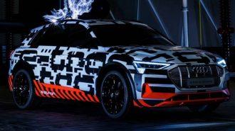Audi E – Tron SUV'un Bir Özelliği Tesla'dan Daha İddialı!