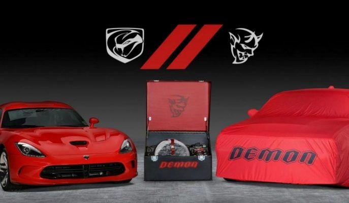 Bantlardan İndirilen Son Dodge Demon ve Viper Birlikte Satışa Çıkarılıyor!