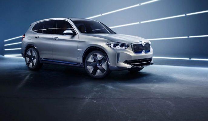 BMW'nin İlk Elektrikli SUV Aracı iX3 Konsept Gösterildi!