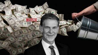 Borç Üstüne Borç Alan Netflix, CEO'suna Çuvalla Para Veriyor!