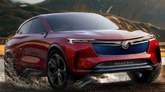 Buick Tamamı Elektrikli 550 Hp Gücündeki Enspire'ı Pekin'e Getiriyor!