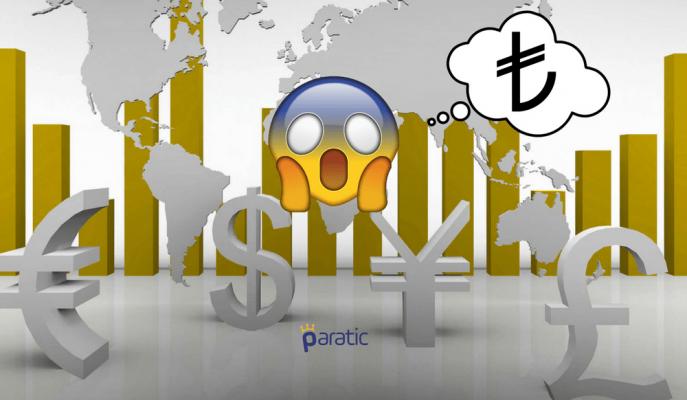 Türk Lirasında Satış Baskısı Sürüyor! Dolar, Euro ve Sterlin'den Yeni Rekorlar Geldi