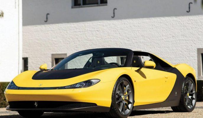 Sadece 6 Örneği Olan Pininfarina Sergio'lardan Biri 4.5 Milyon Dolara Satılıyor!