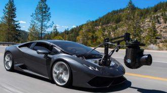 """Dünyanın En Hızlı Kamera Arabası: """"Lamborghini Huracan Coupe"""""""