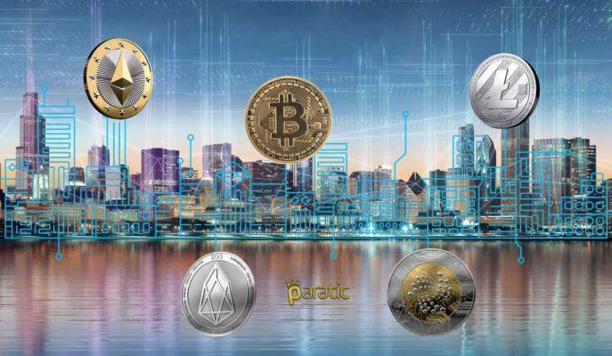 EOS ve IOTA Dışında İlk 10 Kripto Para Yükselişe Geçti