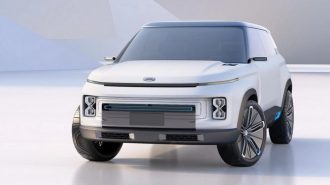 Geely Yeni Konsept SUV Aracı Icon'u Tanıttı