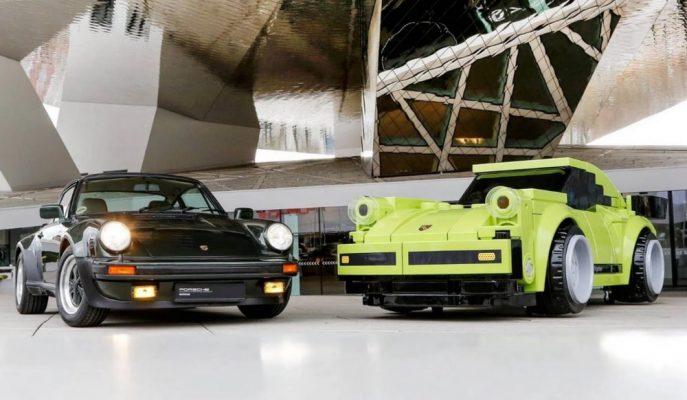 """Gerçek Boyutlu """"Lego 911 Turbo"""" Porsche Müzesinde!"""