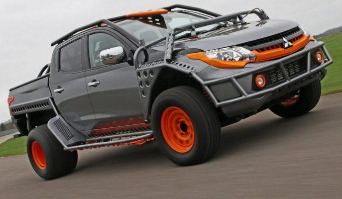 Hızlı ve Öfkeli için Tasarlanan Mitsubishi L200 Pick-up!