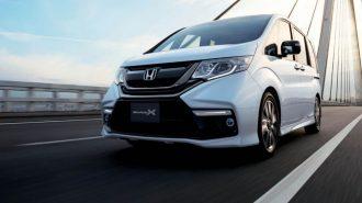 Honda Stepwgn Minivan Aracını Modulo X Paketle Süsledi!