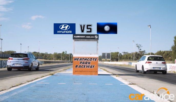 Hyundai i30N İlk Sınavında Golf GTI'yı Terletiyor!