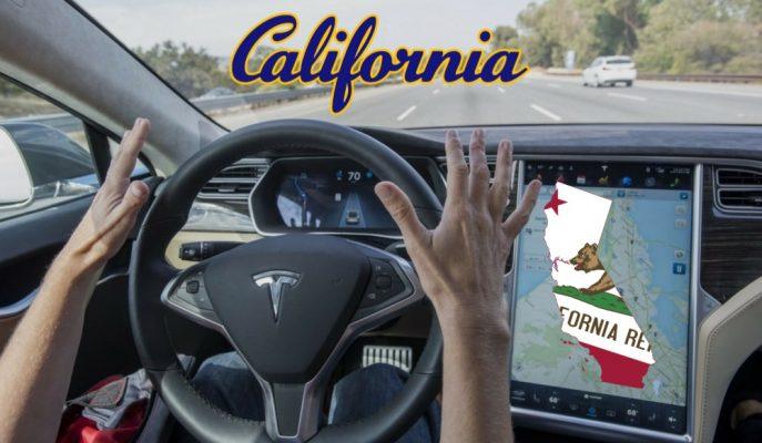 """Kaliforniya Otonom Araçların """"Güvenlik Sürücüleri Olmadan"""" Gitmesine İzin Verdi!"""