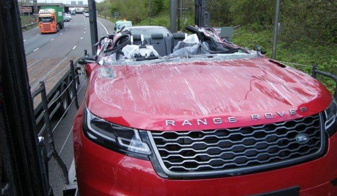 Land Rover'a Fikir Olabilecek Velar SUV Kazası!