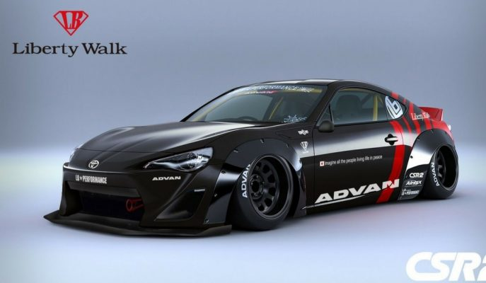 "Liberty Walk'tan ""Çok Modifiyeli"" Toyota GT 86!"